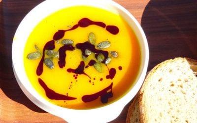 Thai Spiced Pumpkin Soup recipe…