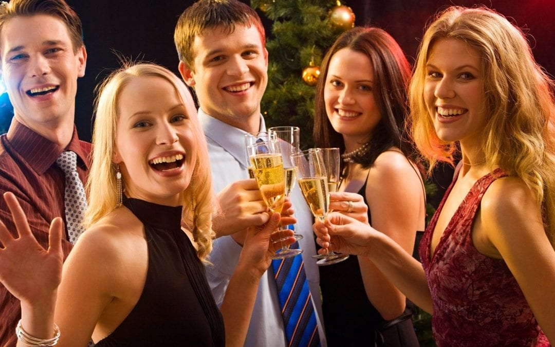 Staying Healthy at Christmas Parties