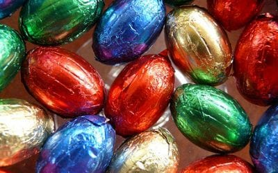 Healthy vs Unhealthy Easter Eggs