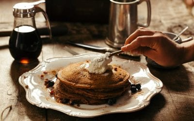 Healthy Chocolate Chip Pancake Day Recipe